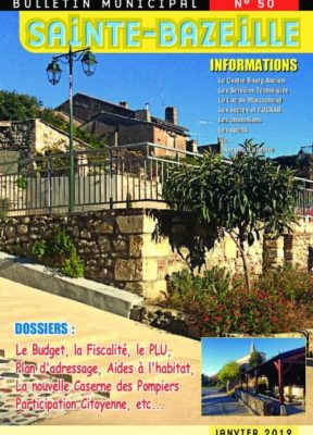 Bulletin municipal, janvier 2019