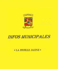 Infos municipales - La feuille jaune, Août 2019